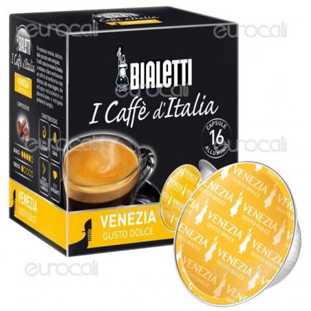 16 Capsule Caffè Bialetti Venezia Gusto Dolce Cialde Originali Bialetti