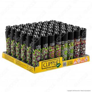 Clipper Large Fantasia Mandalas 5 - Box da 48 Accendini