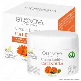 Glenova Cosmetics Crema Lenitiva alla Calendula - Barattolo da 125ml