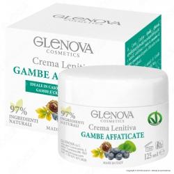 Glenova Cosmetics Crema Lenitiva Gambe Affaticate - Barattolo da 125ml