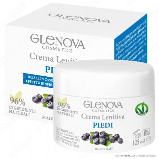 Glenova Cosmetics Crema Lenitiva per Piedi - Barattolo da 125ml
