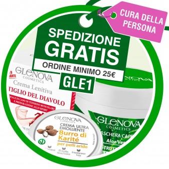 Spedizione Gratuita Acquistando 25,00€ di Prodotti Glenova - Codice GLE1