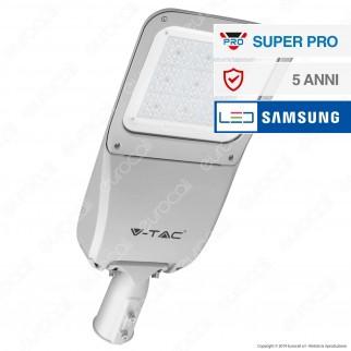 V-Tac SUPERPRO VT-80ST Lampada Stradale LED 80W Lampione SMD Chip Samsung Fascio Luminoso Type 3M - SKU 541