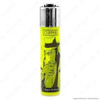 Clipper Large Fantasia Lupin 5 - Box da 48 Accendini