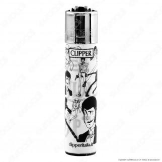Clipper Large Fantasia Lupin 8 - Box da 48 Accendini