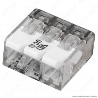 ViolaDirekt Confezione con 50 Connettori Universali a 3 Poli - mod. UC03-BOXXL