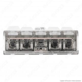 ViolaDirekt Confezione con 25 Connettori Universali a 5 Poli - mod. UC05-BOXXL