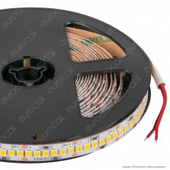 LEDCO Striscia LED 2835 Monocolore 240 LED/metro 24V Bobina 5 metri - mod. SL200LBG20 / SL200LBC20 / SL200LBN20 / SL200LBI20