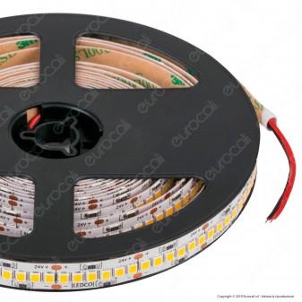 LEDCO Striscia LED 2835 Monocolore 240 LED/metro 24V IP65 con Nano Particelle - Bobina da 5 metri