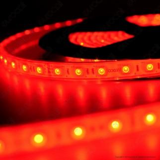 LEDCO Striscia LED RGB 120 LED/metro 24V Subacquea IP68 - Bobina da 5 metri