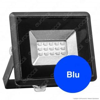 V-Tac VT-4011 E-Series Faro LED SMD 10W Ultra Sottile da Esterno Colore Nero Luce Colorata - SKU 5988 / 5989 / 5990