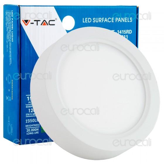 V-Tac VT-1415RD Pannello LED Rotondo 15W SMD5630