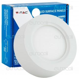 V-Tac VT-1408RD Pannello LED Rotondo 8W SMD5630 - SKU 4805 / 4804 / 4803