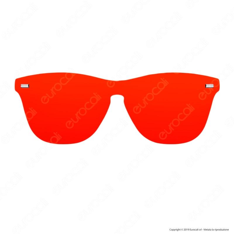 Northweek Wall Phantom FLAKA Occhiali da Sole, Rosso (Red