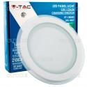 V-Tac VT-1804G-RD Pannello LED Rotondo 18W SMD2835 da Incasso Change Color - SKU 4837