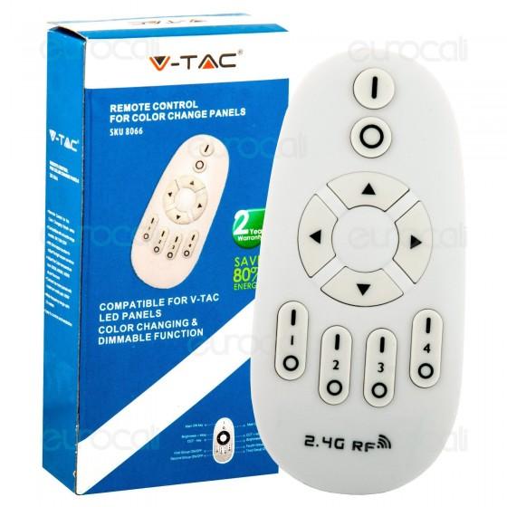 V-Tac Telecomando Radio per Pannelli Color Change Dimmerabili
