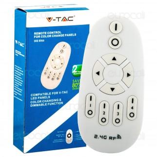 V-Tac Telecomando Radio per Pannelli Color Change Dimmerabili - SKU 8066
