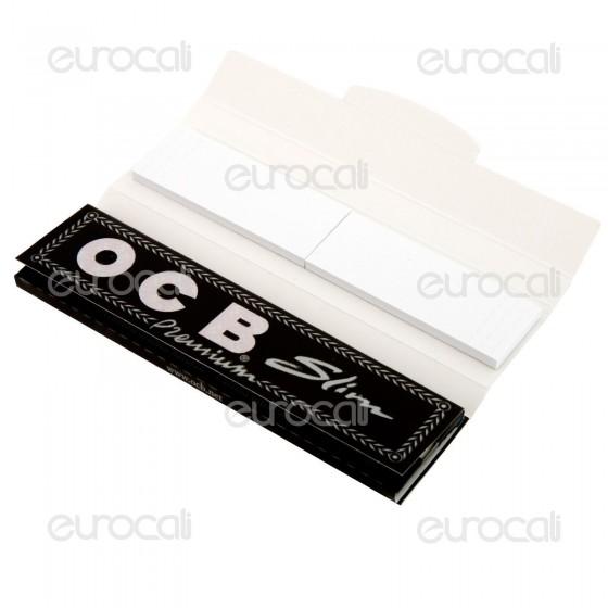 OCB Pack Cartine King Size Slim Lunghe e Filtri in Carta - Libretto
