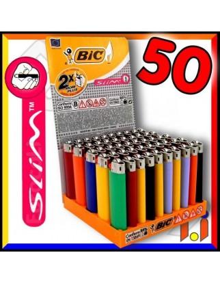 Bic Slim J23 Medio - Box da 50 Accendini