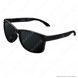Northweek Bold Mod. All Black - Occhiali da Sole con Lenti Polarizzate Antigraffio
