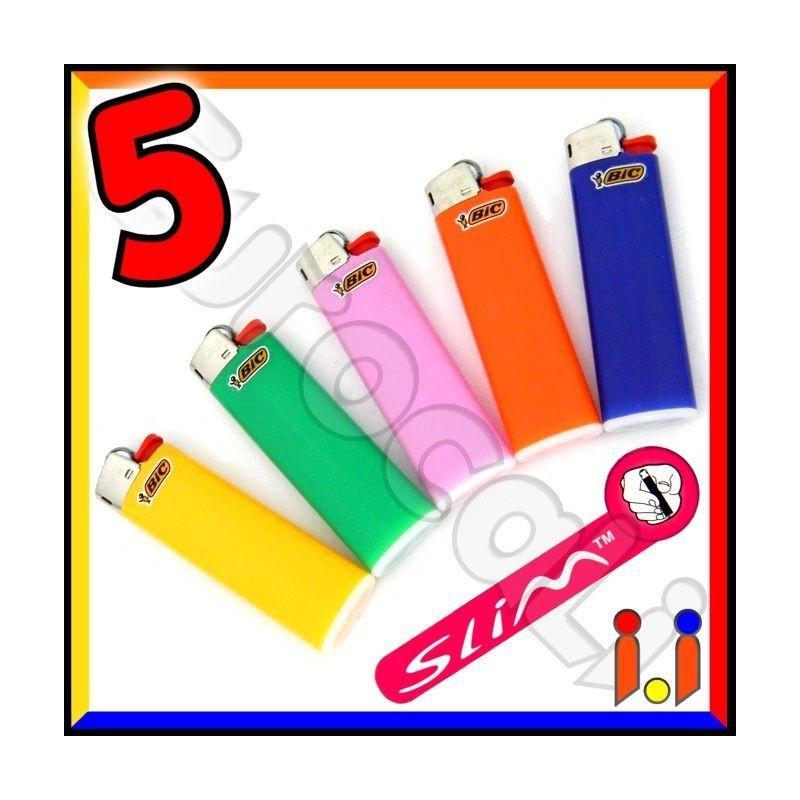 Bic Slim J23 Medio - 5 Accendini