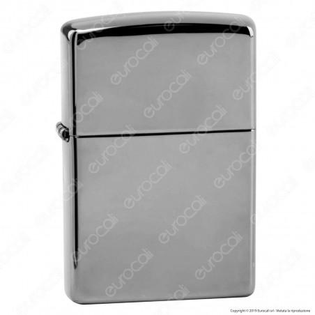 Accendino Zippo Mod. 150 Pvd Black Ice - Ricaricabile Antivento