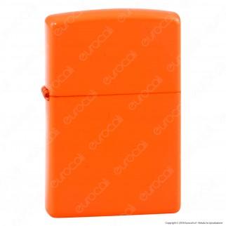 Accendino Zippo Mod. 28888 Neon Orange - Ricaricabile Antivento