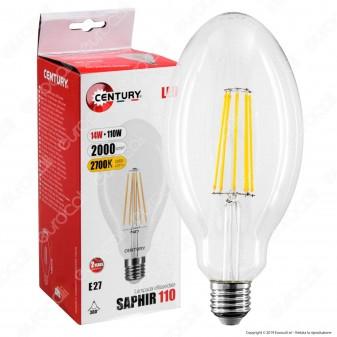 Century Lampadina LED E27 14W Ellissoidale Filamento - mod. SAP-142727