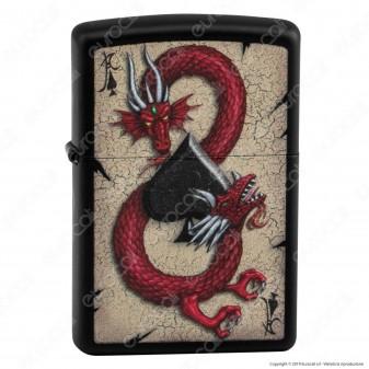 Accendino Zippo Mod. 29840 Red Dragon - Ricaricabile Antivento