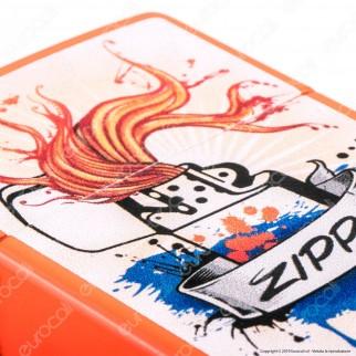 Accendino Zippo Mod. 29605 Zippo Lighter - Ricaricabile Antivento