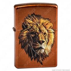 Accendino Zippo Mod. 29865 Lion - Ricaricabile Antivento