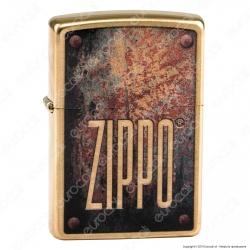 Accendino Zippo Mod. 29879 Zippo Vintage - Ricaricabile Antivento