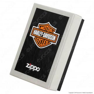 Accendino Zippo Mod. 28982 Harley-Davidson® Ghost - Ricaricabile Antivento