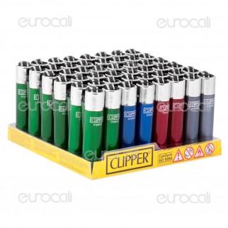 Clipper Micro Fantasia Micro Crystal 2 - Box da 48 Accendini