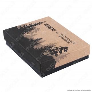 Accendino Zippo Mod. 29903 Woodchuck™ Leaves - Ricaricabile Antivento