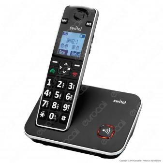 Switel Vita DC 7000 Telefono Cordless per Portatori di Apparecchi Acustici