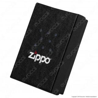 Accendino Zippo Mod. 29881 PVD Black Ice Wings - Ricaricabile Antivento