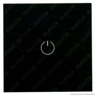 V-Tac VT-5121 Interruttore Touch Colore Bianco con 1 Tasto a 2 Vie - SKU 8389
