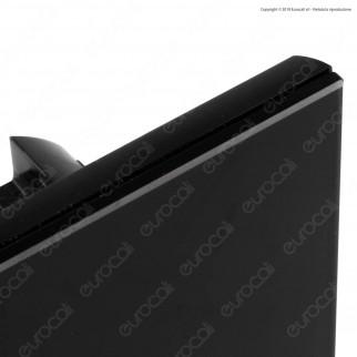 V-Tac VT-5112 Interruttore Touch Colore Nero con 2 Tasti - SKU 8387