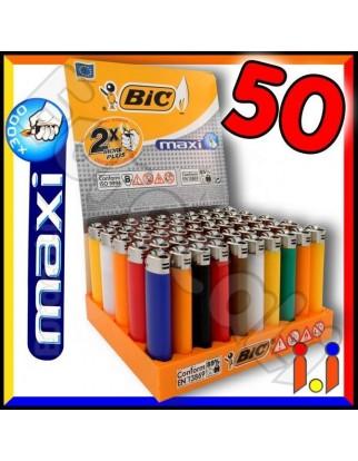 Bic Maxi J26 Grande - Box da 50 Accendini