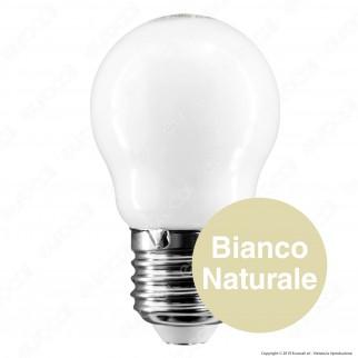 Bot Lighting Lampadina LED E27 6W MiniGlobo G45 Milky Filamento Extra-Lungo - mod. MLD3106X2 / MLD3106X3