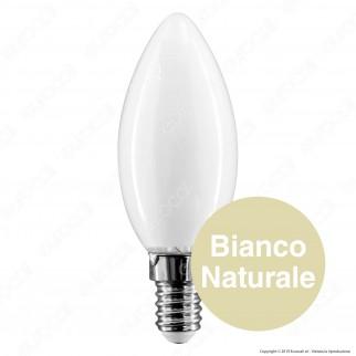 Bot Lighting Lampadina LED E14 6W Candela Milky Filamento Extra-Lungo - mod. MLD2006X2 / MLD2006X3