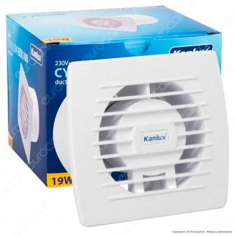 Kanlux Cyklon EOL100 Ventilatore da Canale 19W IPX4 - mod. 70911