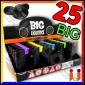 Ciao Big Fantasia Liquorice - Box da 25 Accendini