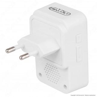 V-Tac Smart VT-5415 Campanello Wi-Fi per Videocitofono con Spina 10A 2P - SKU 8445