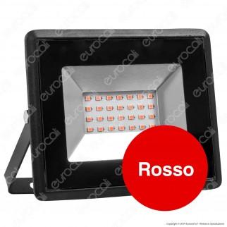 V-Tac VT-4021 E-Series Faro LED SMD 20W Ultra Sottile da Esterno Colore Nero Luce Colorata - SKU 5991 / 5992 / 5993