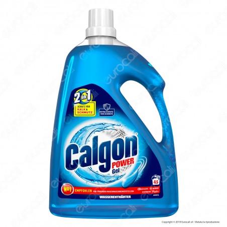 Calgon 2in1 Power Gel Igienizzante Lavatrice - 2250ml