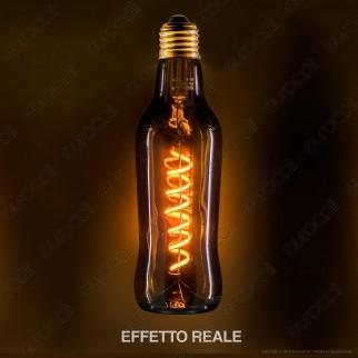 Segula Design Line Lampadina E27 Filamento LED Modellato 8W Forma Bottiglia Dimmerabile mod. 50126