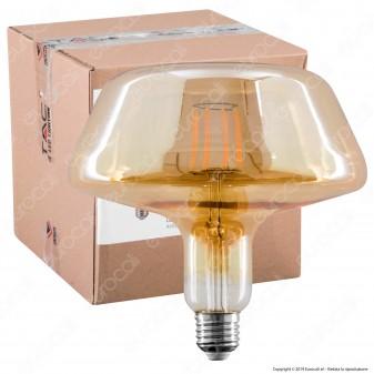 V-Tac VT-2308 Lampadina LED E27 8W Bulb Filamento Ambrata - SKU 2790