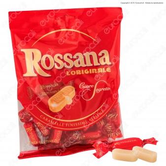 Caramelle Rossana Finissime con Ripieno Cremoso Senza Glutine - Busta 175g